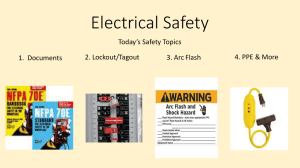 Electrical Safety - PNWS-AWWA