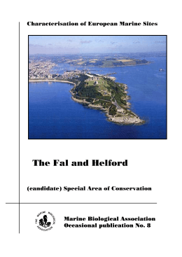 FAL AND HELFORD cSAC - The Marine Biological Association