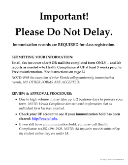 Important! Please Do Not Delay.