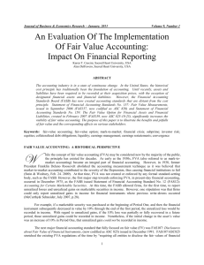 An Evaluation Of The Implementation Of Fair