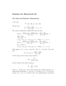 Solution for Homework 22