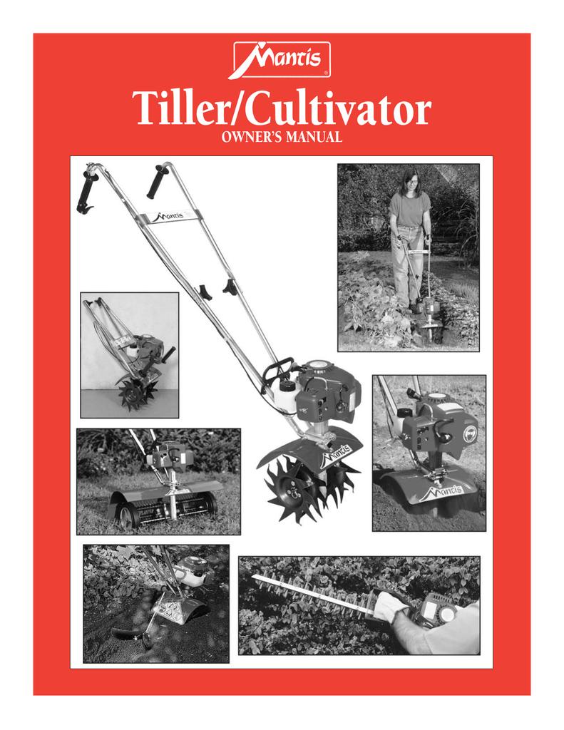 Mantis Tiller Manual 401702