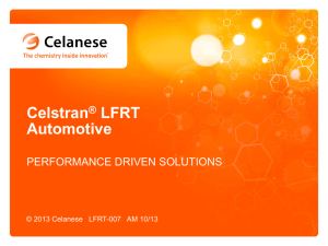 Celstran® LFRT Automotive