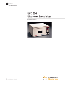 uvc 500.qxd - GE Healthcare Life Sciences