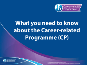 What you need to know about the Career