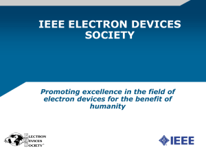 IEEE ELECTRON DEVICES SOCIETY