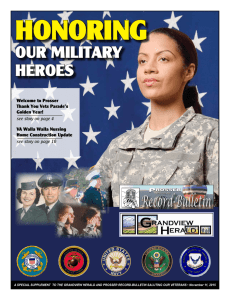 our military heroes - Prosser Record
