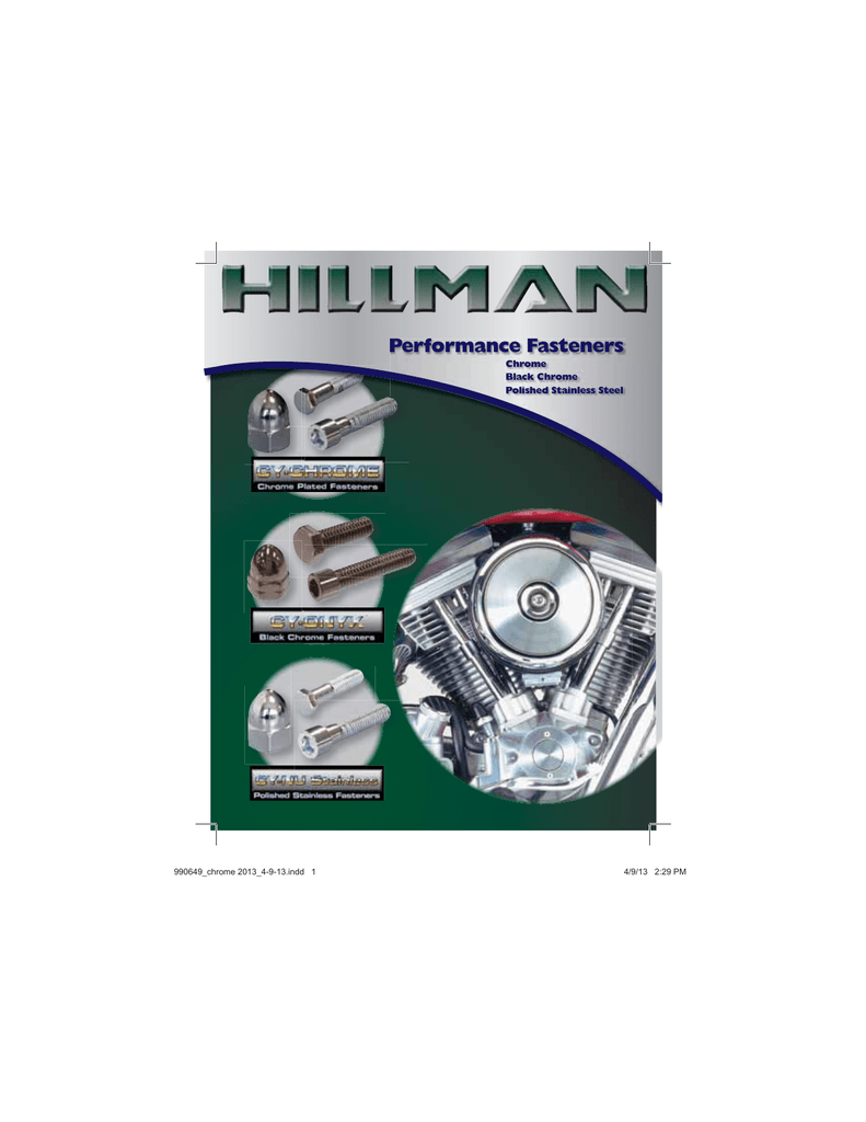 The Hillman Group 943437 Chrome Flat Head Cap Screw 2-Pack 1//4-20 x 1-1//4-Inch