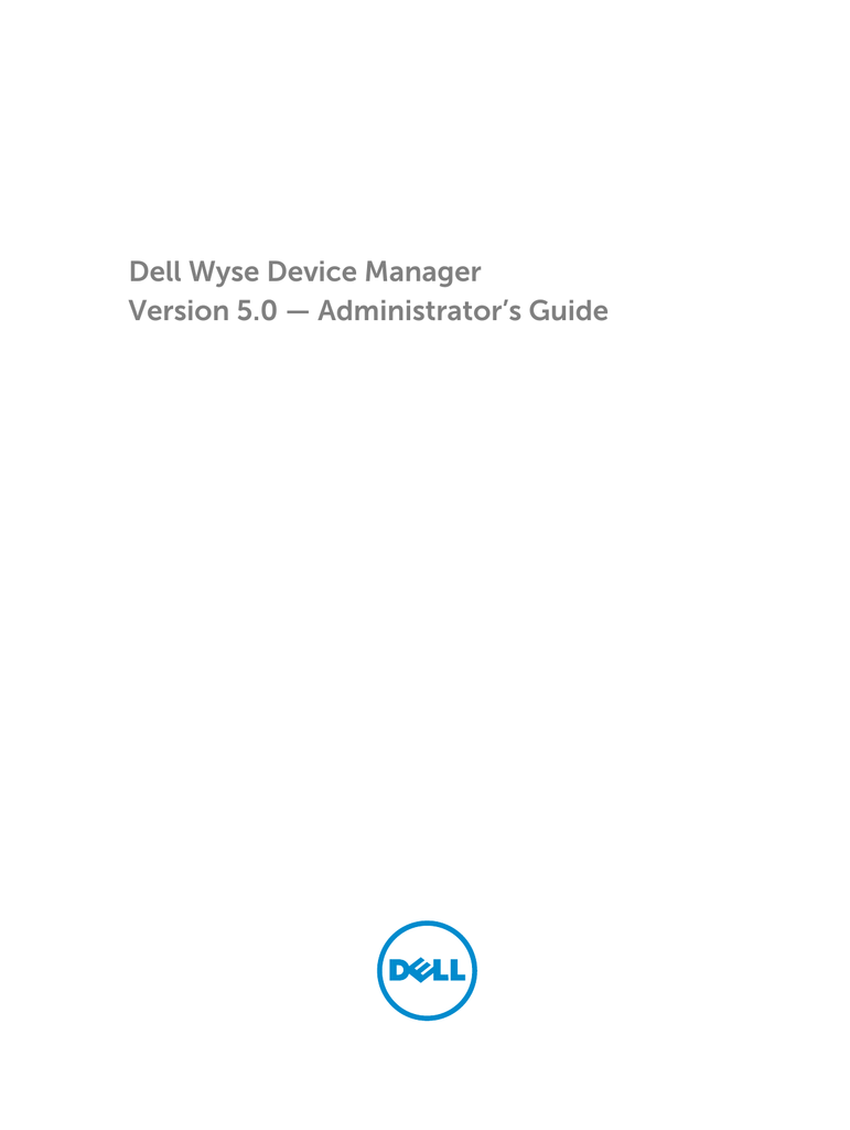 dell wyse administrator password
