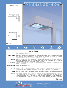 VeRsAlux-SEG - U.S. Architectural Lighting