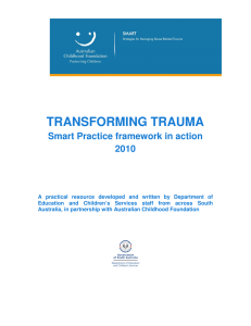 SMART=ER Transforming trauma resource 2010