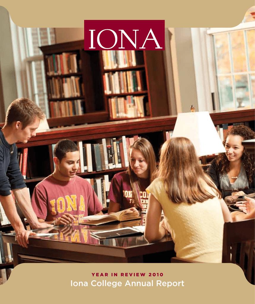 Iona College Annual Report