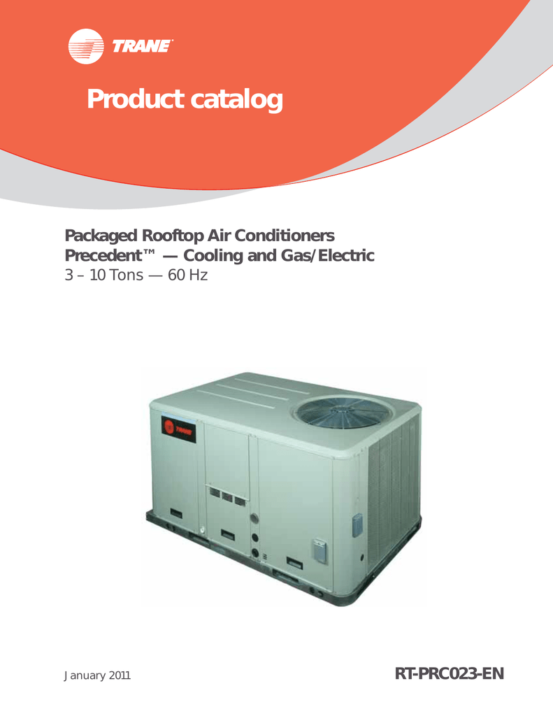 Packaged Rooftop Air Conditioners - Precedent