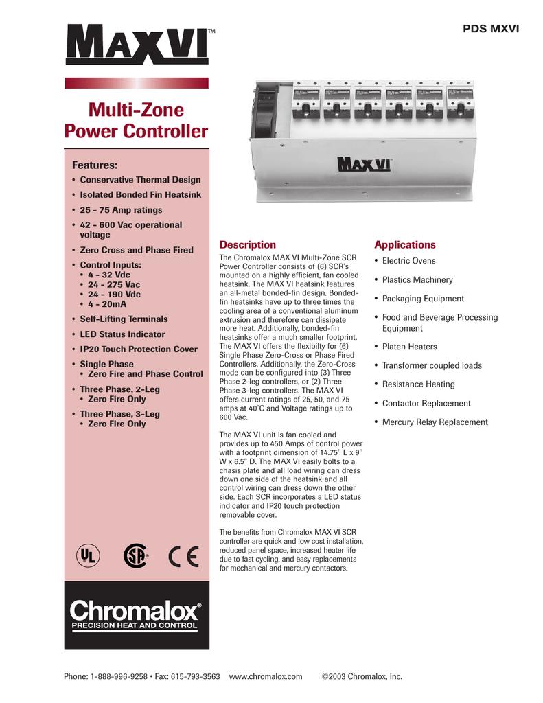 Max VI PDS - Chromalox