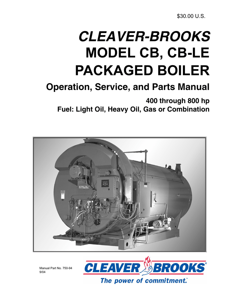Cleaver Brooks Wiring Diagram Todays Mettler Toledo Cb Cble 400 800 Hp Operation And
