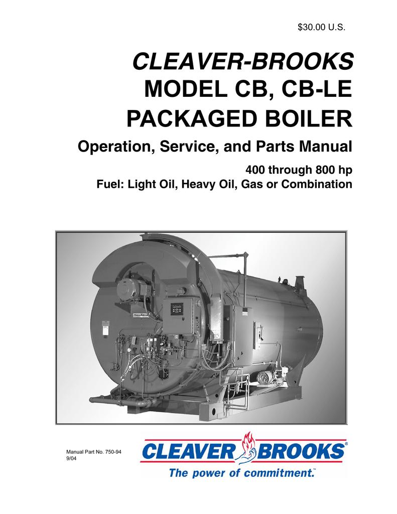 Cleaver Brooks Wiring Diagram – Industrial Gas Boiler Wiring Diagram