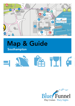 Southampton Guide - Blue Funnel Cruises