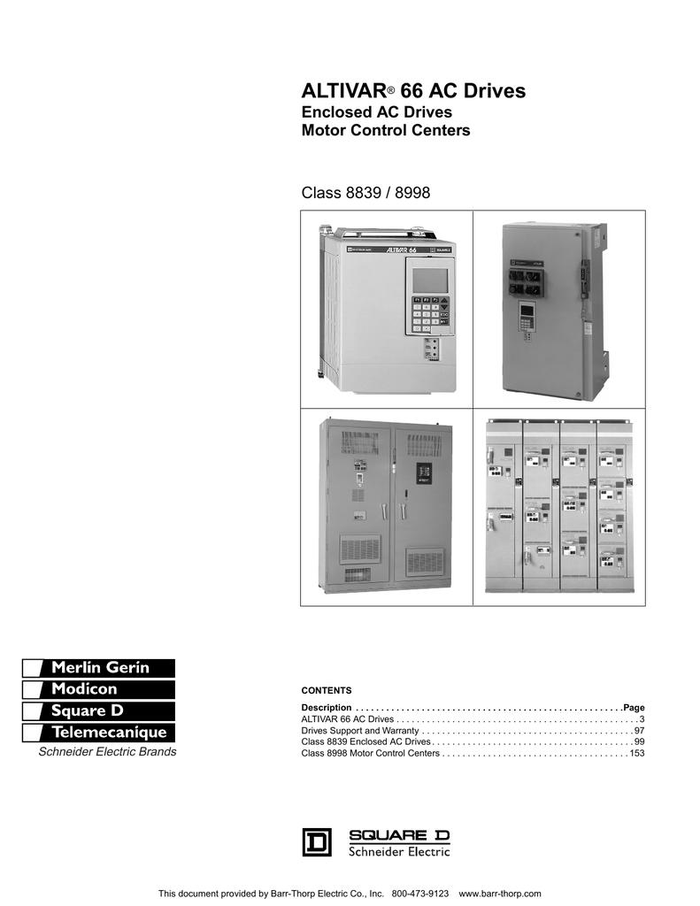 ALTIVAR® 66 AC Drives - Barr