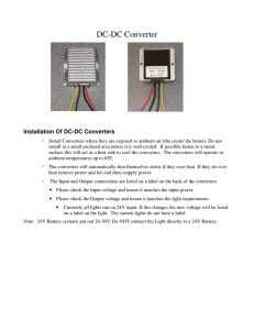 DC Power Wiring Instructions 1.8
