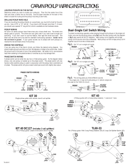 carvin pickup wiring instructions pickup wiring instructions