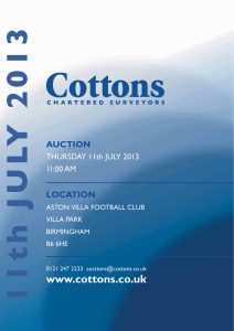- Cottons Chartered Surveyors