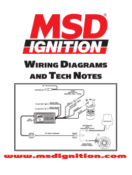 msd ignition control module installation instructions wiring diagrams and tech notes