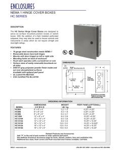 Integra H8084SF Premium Line Enclosure 8 Width Opaque Cover Mounting Flange 4 Depth 8 Height Four Screws