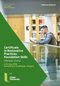 Foundation Skills - Ulster University