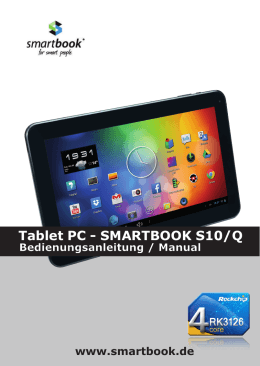 Tablet PC - SMARTBOOK S10/Q