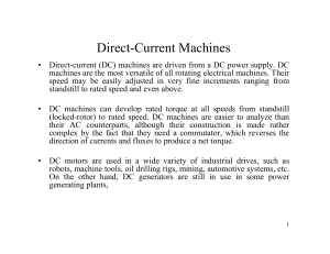 Direct-Current Machines