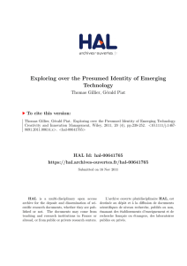 Exploring over the Presumed Identity of Emerging Technology
