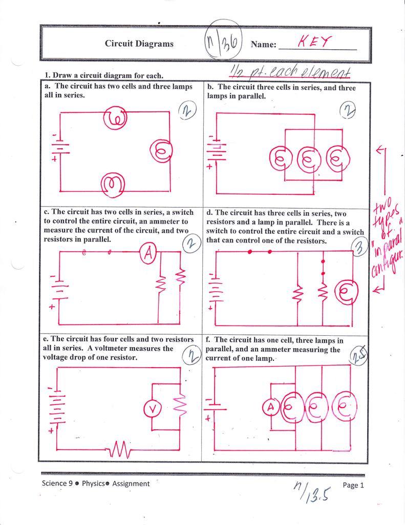 Circuit Diagrams Key Diagram With Voltmeter