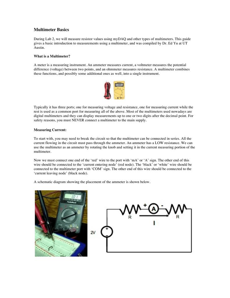Multimeter Basics Single Node Wiring Diagram 018668574 1 D3a2091f5c00104576f61a5239fffe8f