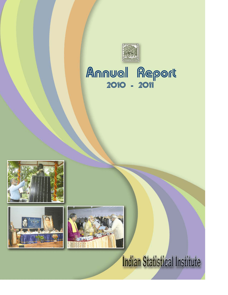 Annual report 2010 11 indian statistical institute fandeluxe Images