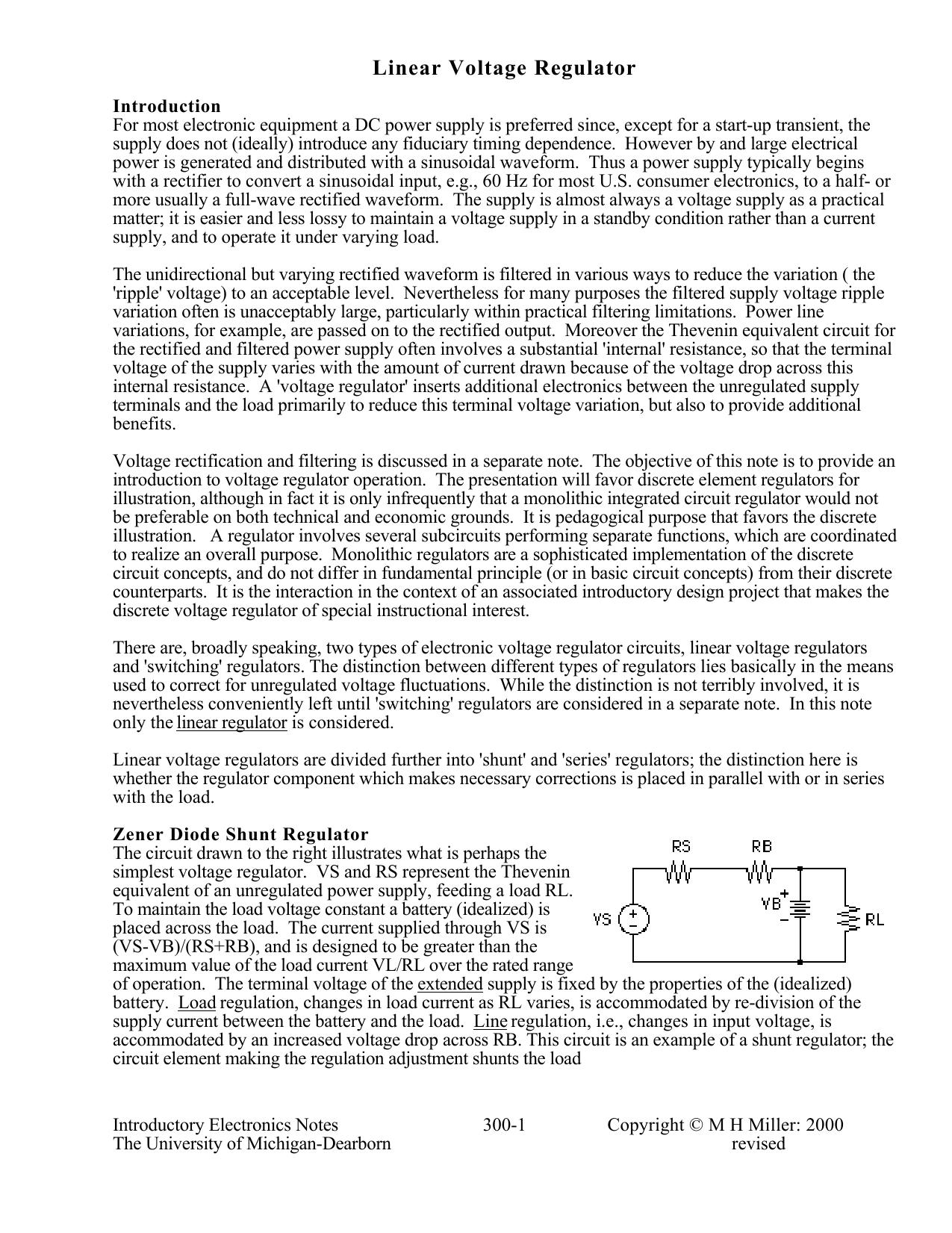 Linear Voltage Regulator Psu Diagram Furthermore Shunt Circuit 018668756 1 D3b664b1d0613e9e2acbd0221710f590