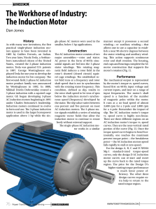 The Workhorse of Industry: The Induction Motor