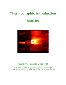 Thermographic Booklet - Surrey BC Infrared Camera Services