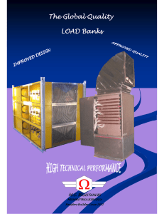 A load bank is a device which develops an electrical load electrical