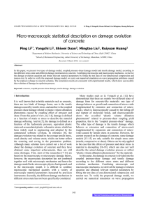 Micro-macroscopic statistical description
