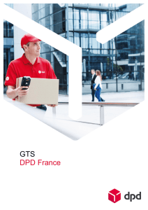 DPD France Group General Terms of Sale