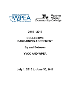 2015-2017 Contract-YVCC - Washington Public Employees