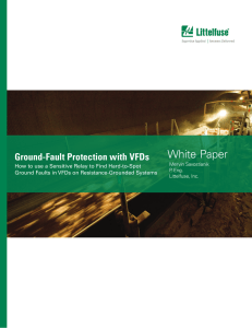 White Paper - Ground-Fault Protection with VFDs