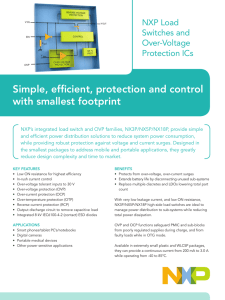 Simple, efficient, protection and control with smallest footprint