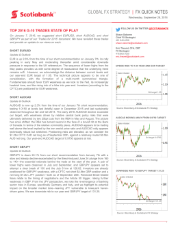global fx strategy | fx quick notes