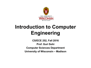 Welcome Aboard - Computer Sciences User Pages