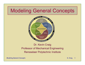 Modeling General Concepts