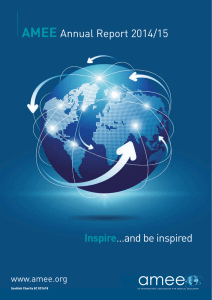 AMEE Annual Report 2014/2015