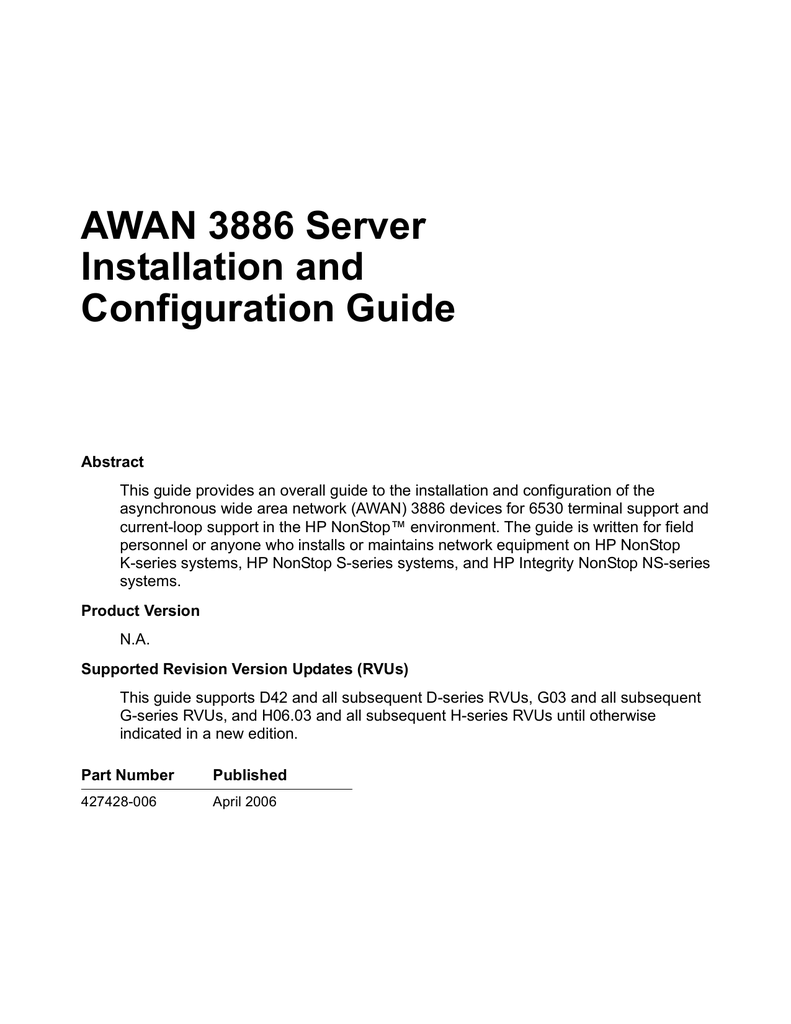 Awan 3886 Server Installation And Configuration Guide With The Pinout Wiring Upthe Connector Is Trivial Just Use Net 018673001 1 5fb395befa5c6ef89fea064c80f3c80c