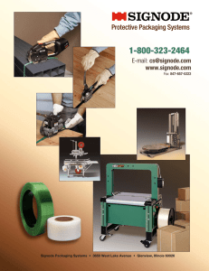 Signode Packaging Systems catalog of protective packaging