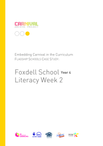 Literacy Week 2 yr4 - Carnival Archive Project
